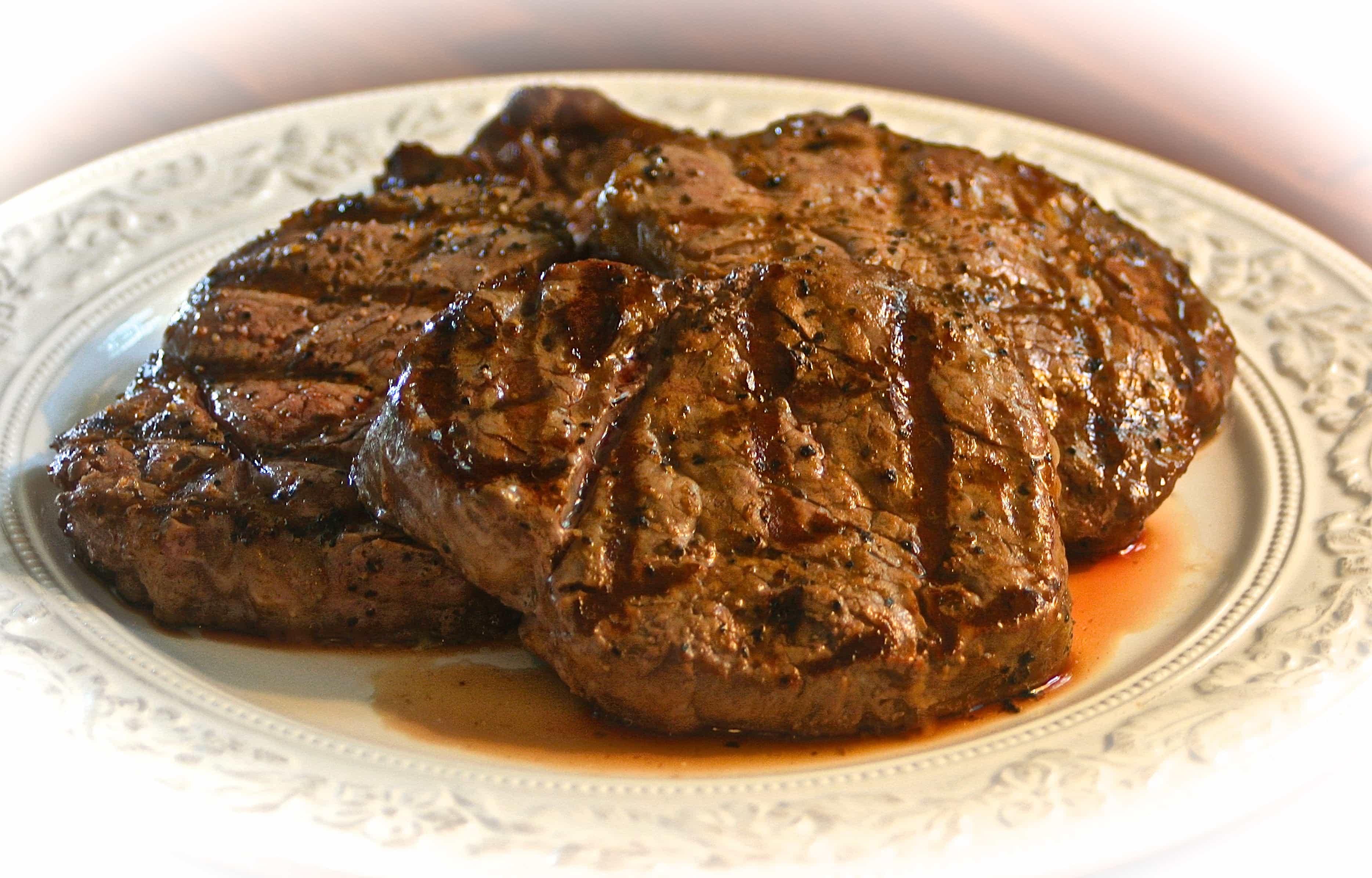 Grilled Ribeye Steakho...