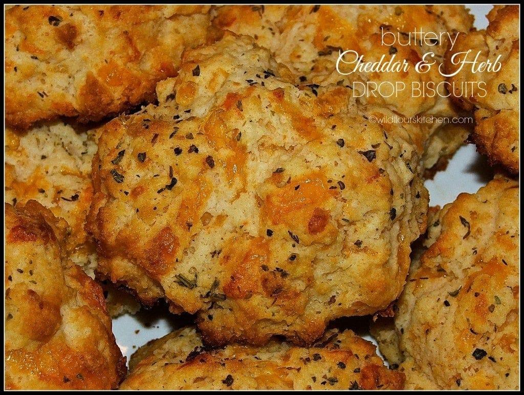 drop biscuits cheddar herb