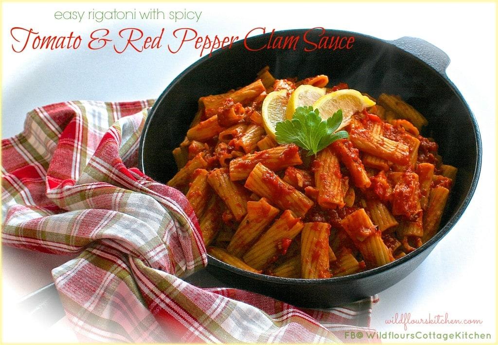 rigatoni & tom:clam sauce
