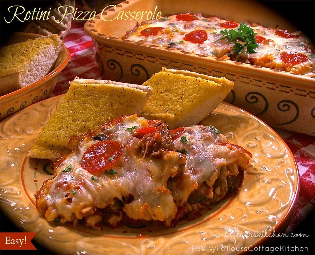 rotini pizza casserole 2