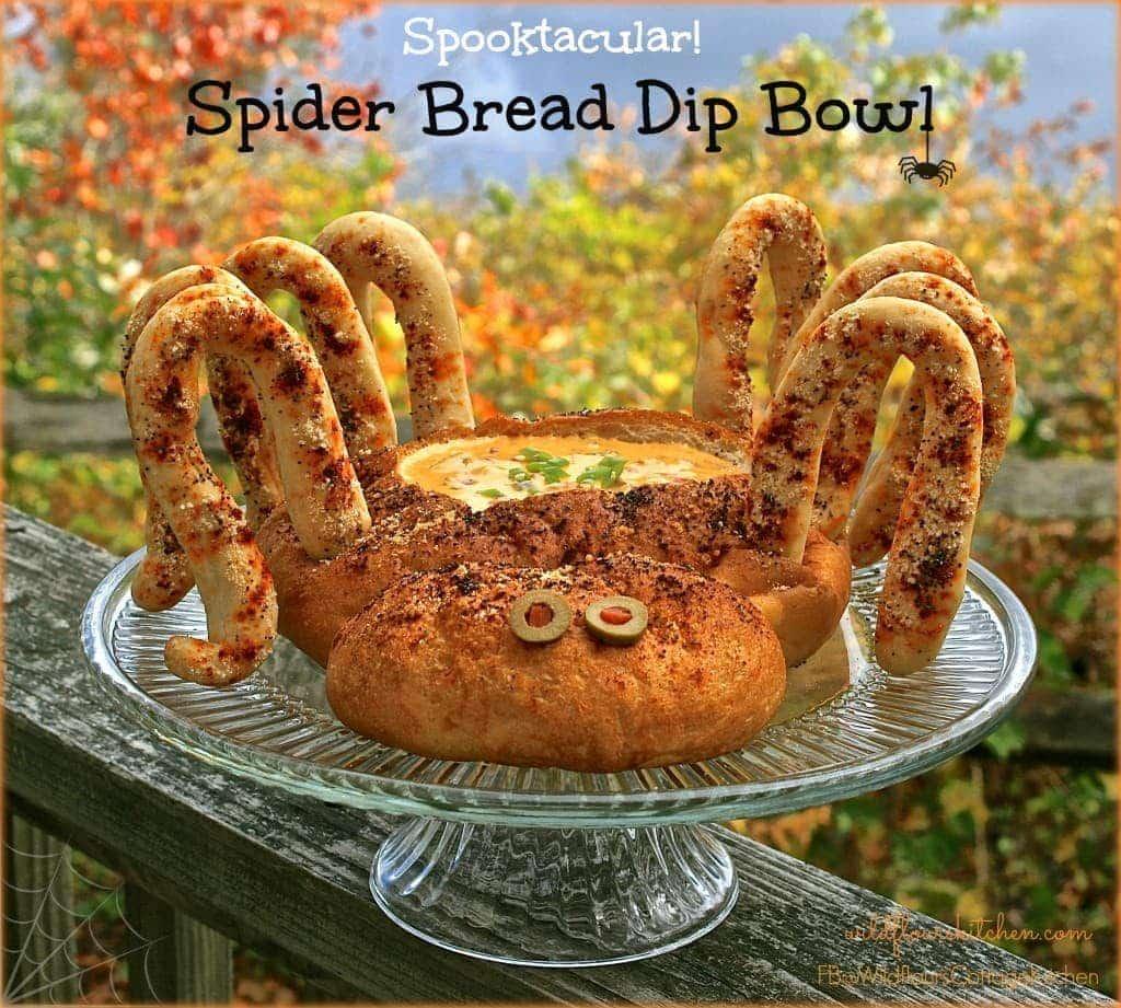 spider bread bowl