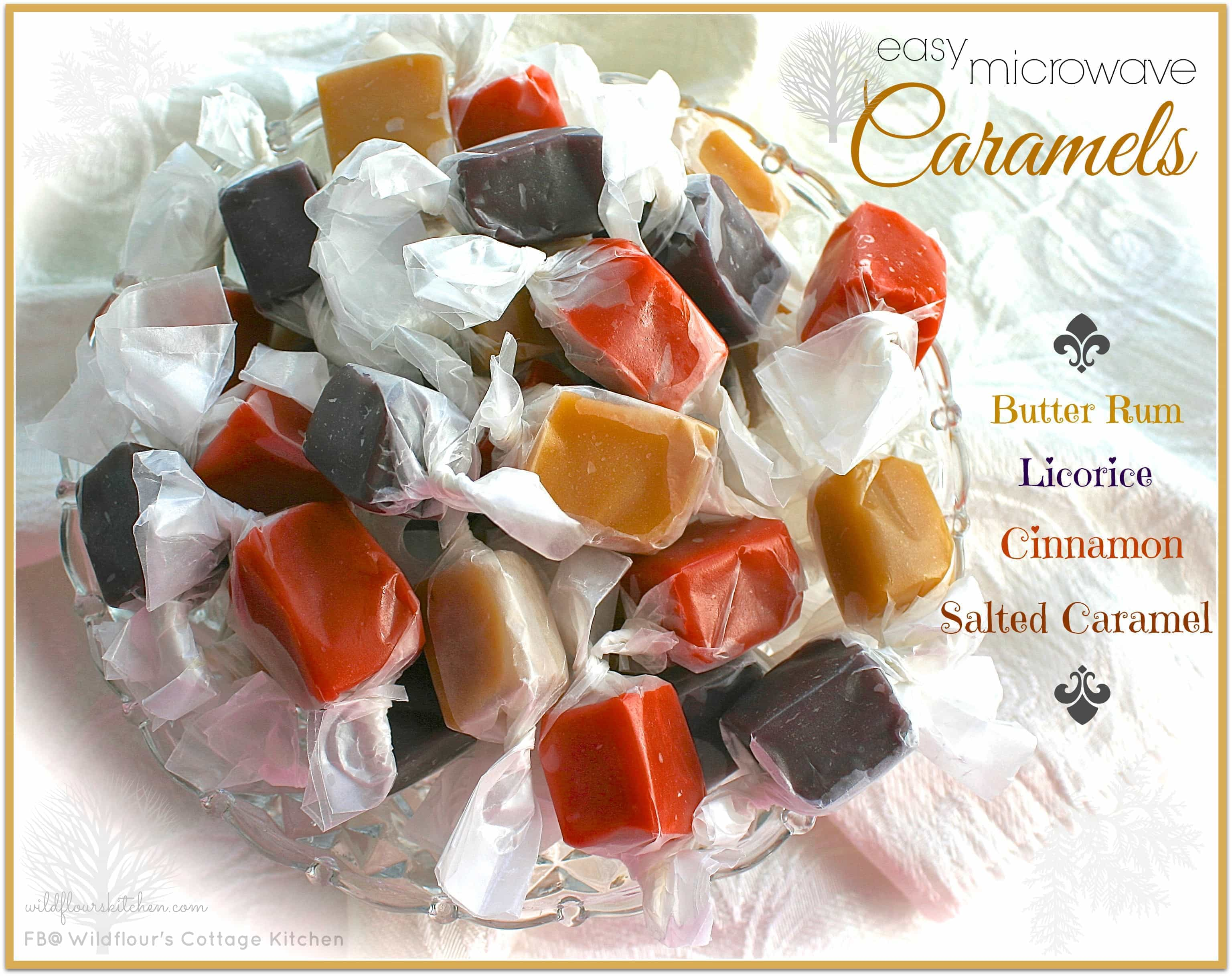 Assorted Caramels (Butter Rum, Licorice, Cinnamon, & Salted Caramel ...