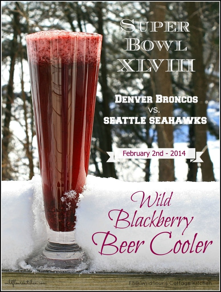 blackberry beer cooler