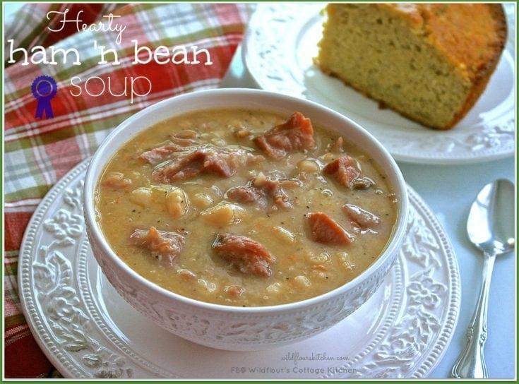 Hearty Ham 'n Bean Soup
