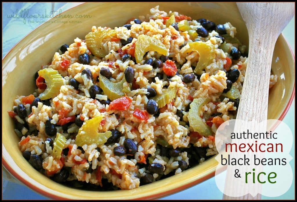 mexican black beans & rice