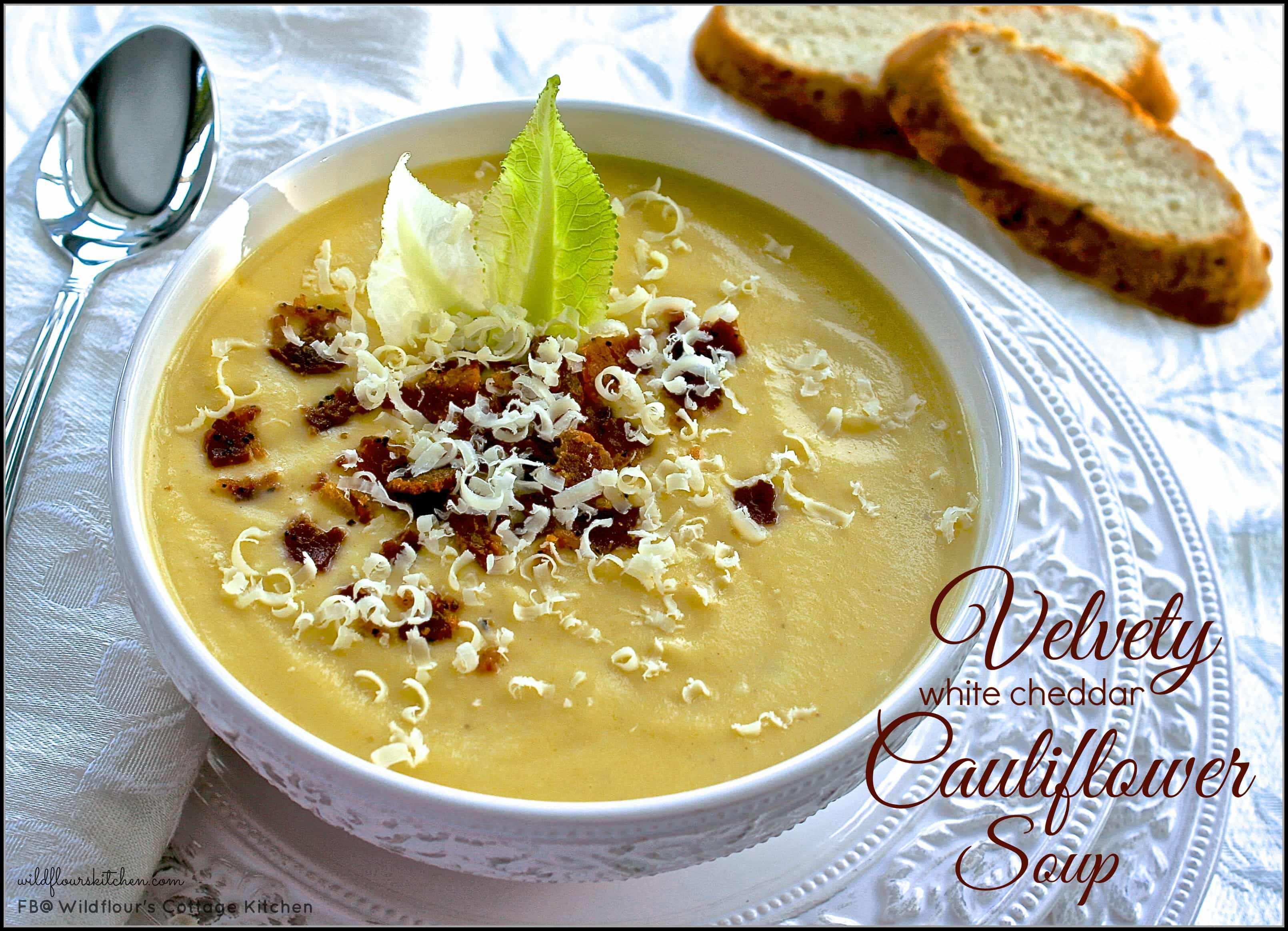 ... soup with dill recipes dishmaps cauliflower and white cheddar soup