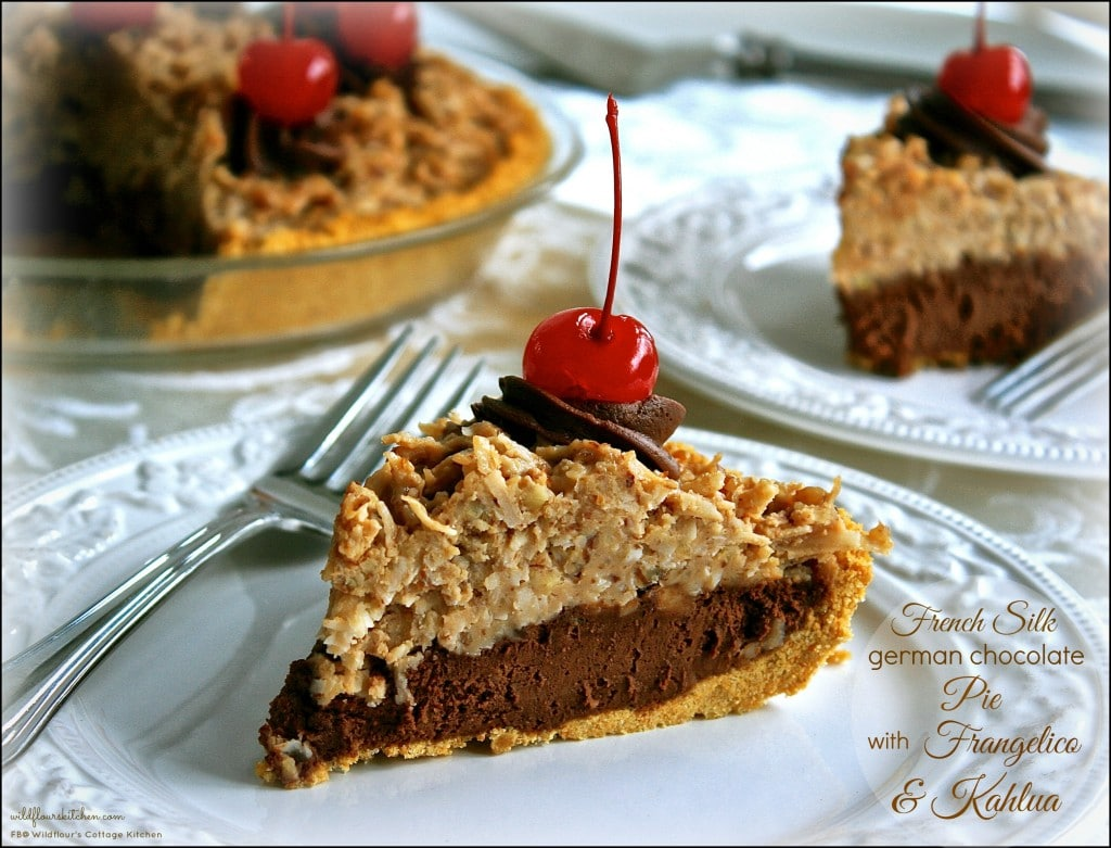 french silk german choc pie