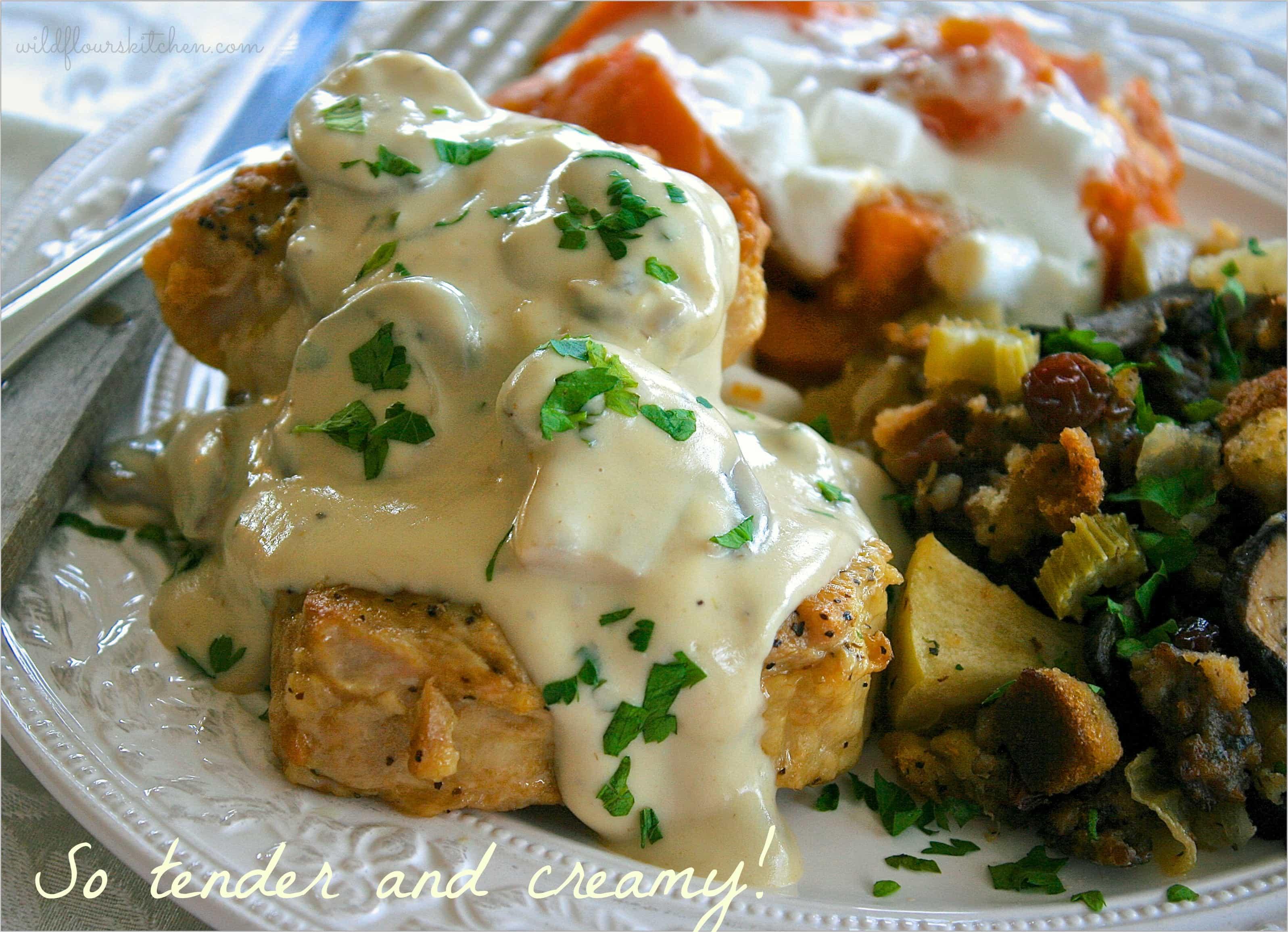 recipe: sour cream gravy pork chops [33]