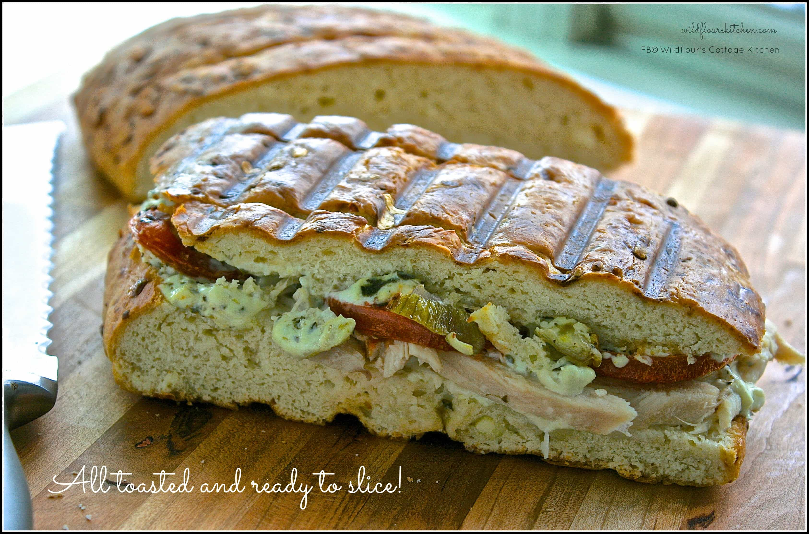 Turkey Artichoke Panini (Even better than Panera's!) - Wildflour's ...