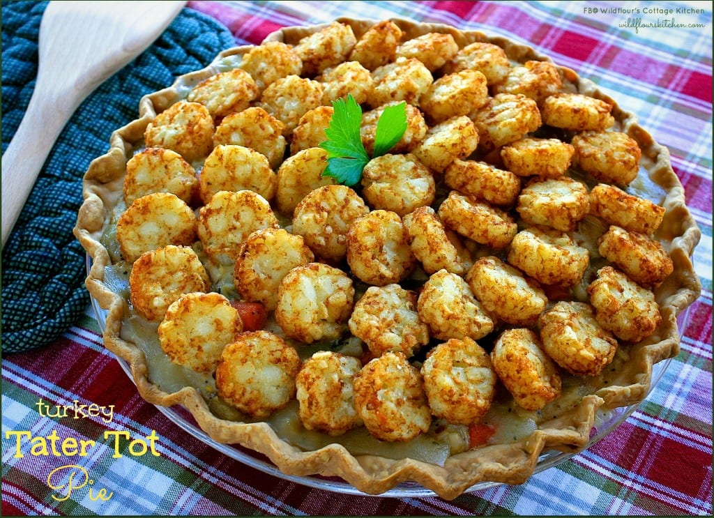 turkey tater tot pie