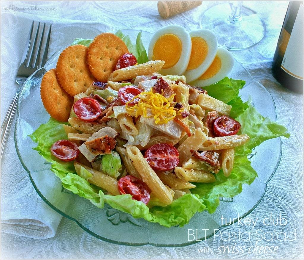 BLT Turkey Club Pasta Salad