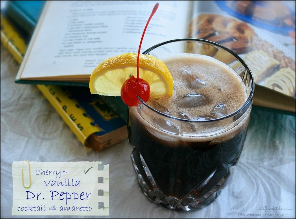 Dr. Pepper Cocktail