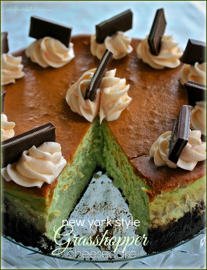 grasshopper cheesecake 3