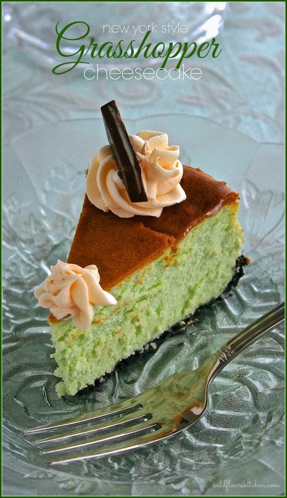 grasshopper cheesecake 4