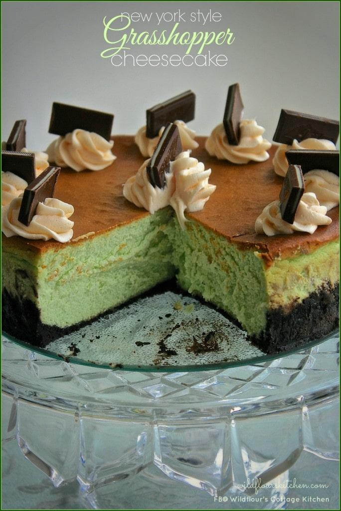 grasshopper cheesecake 5
