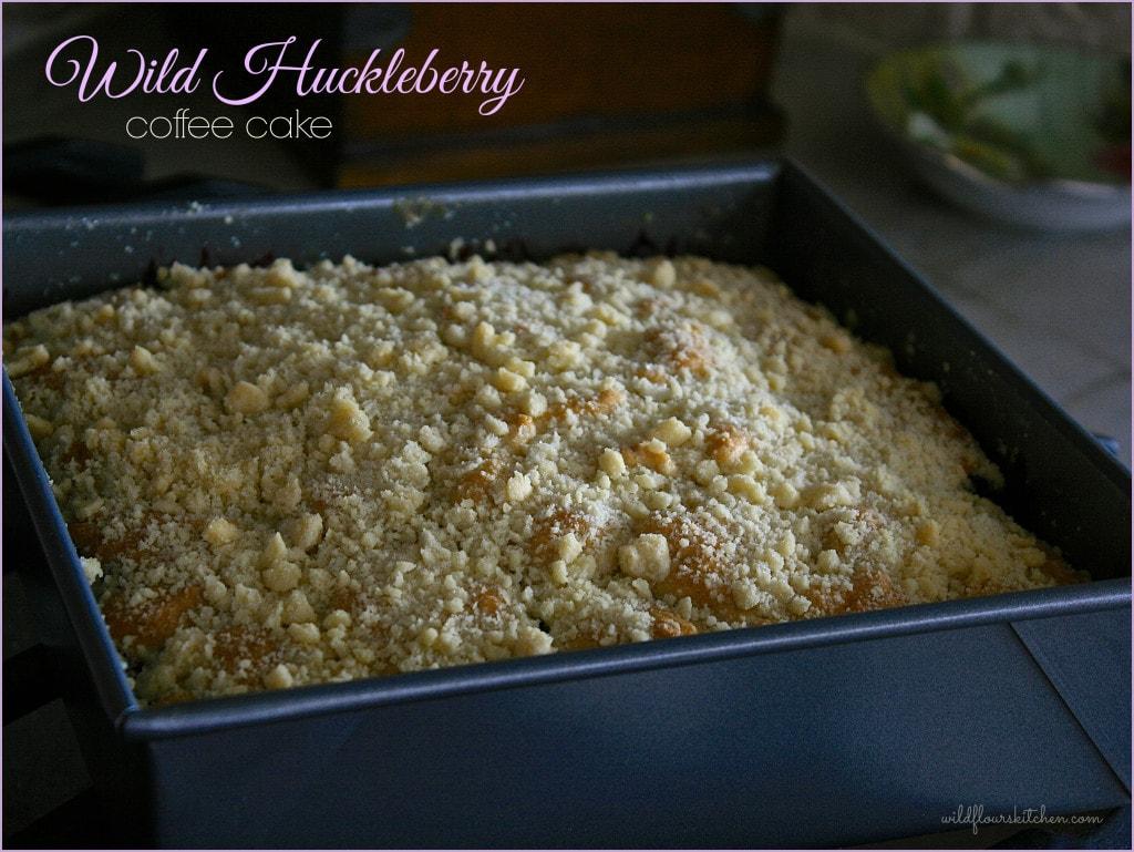 huckleberry coffeecake