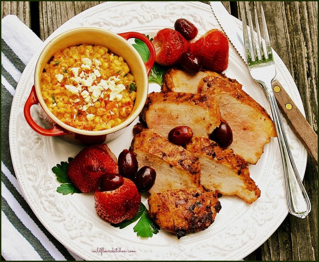 pork tenderloin chipotle plate