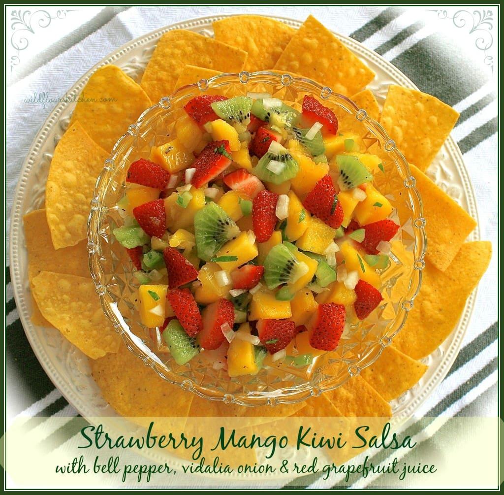 strawberry mango kiwi salsa