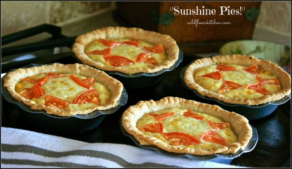 corn & tomato sunshine pies 2