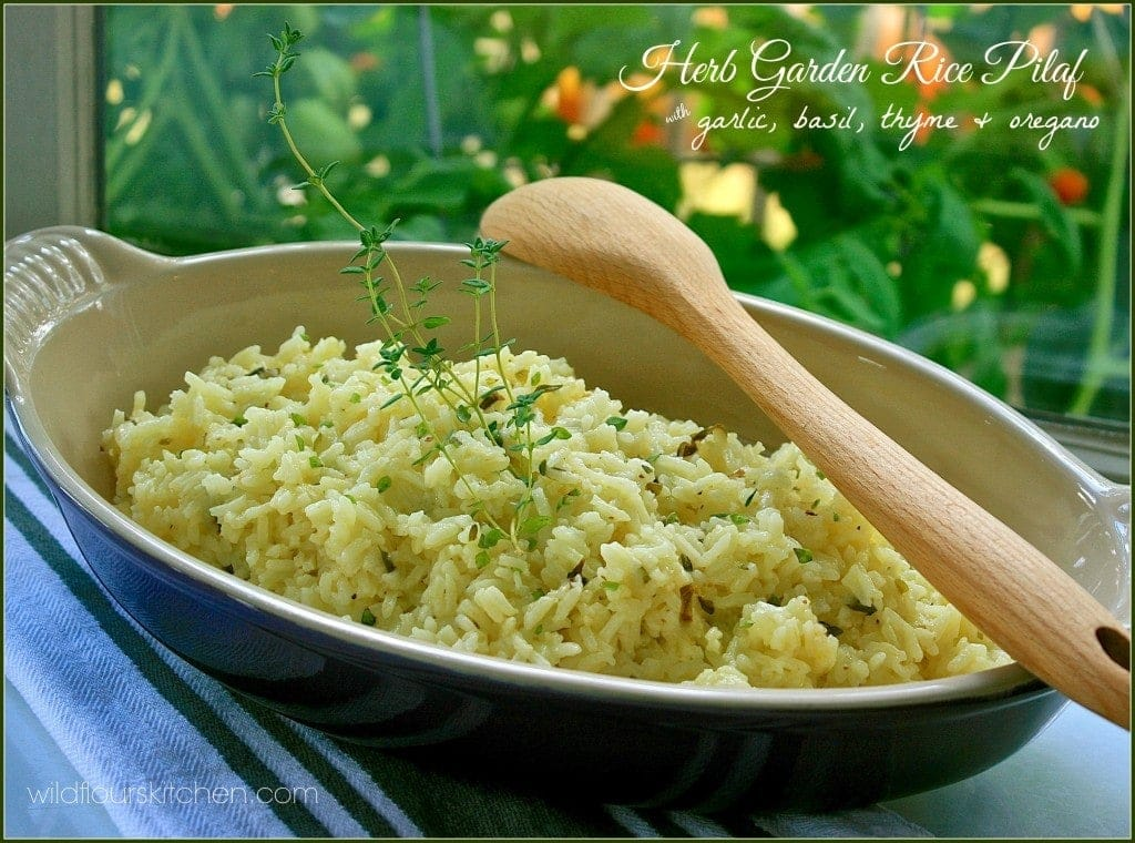 herbed rice pilaf 3
