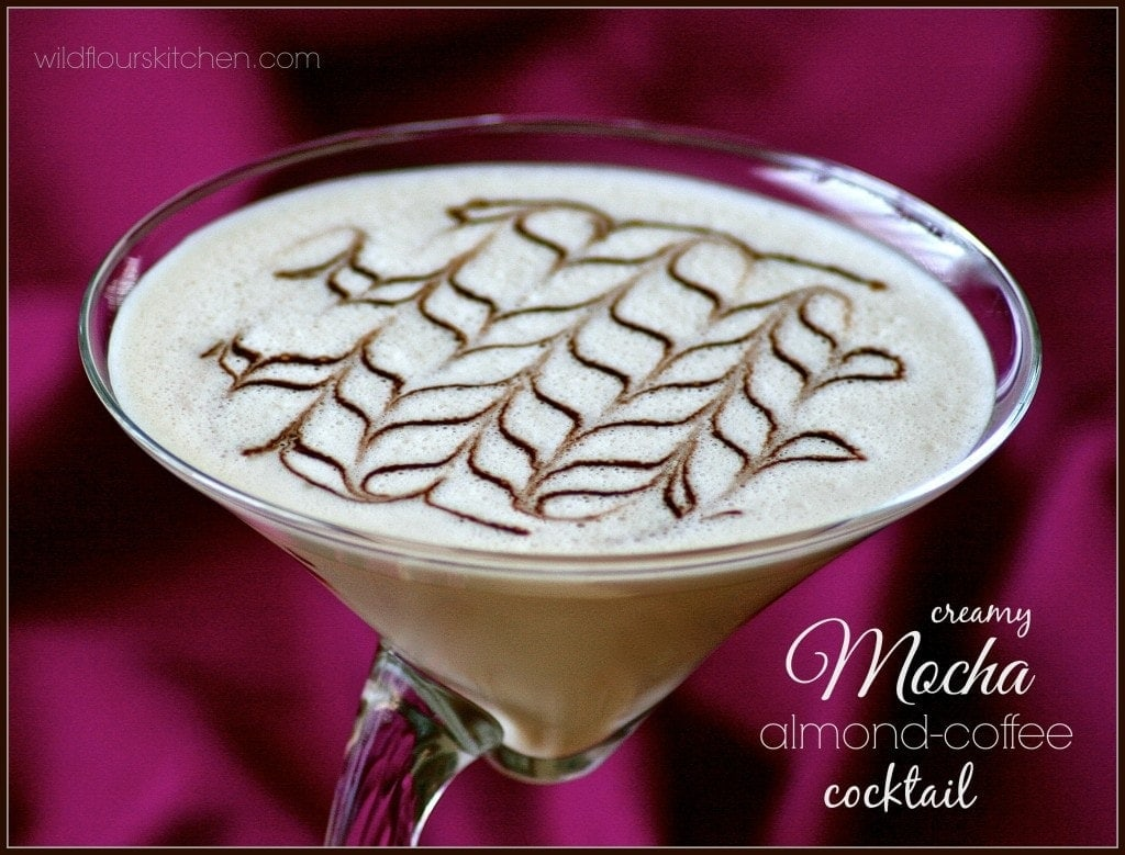 mocha almond coffee cocktail