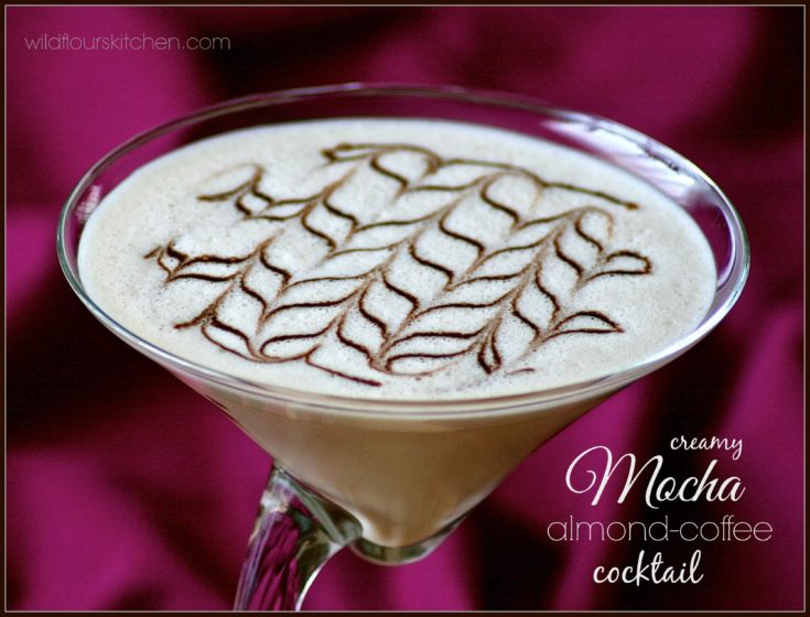 Creamy Mocha Almond-Coffee Cocktail