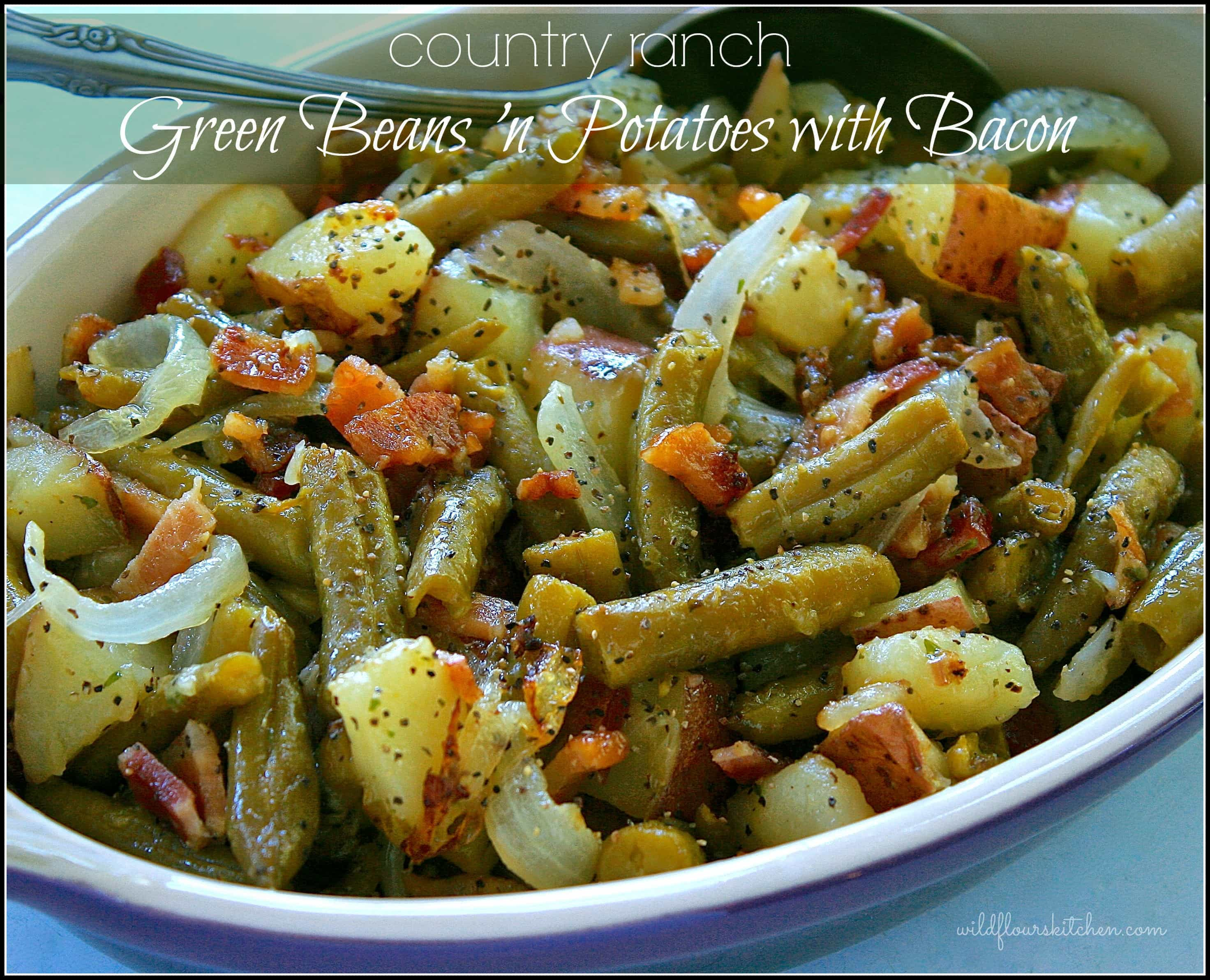 Green beans and potatoes recipes