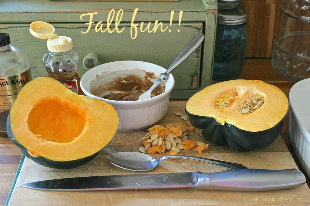 acorn squash acorn squash soup with kale spicy acorn squash soup ...