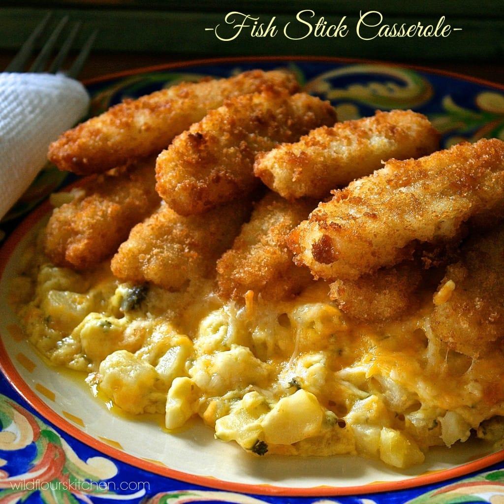 fish stick casserole 3