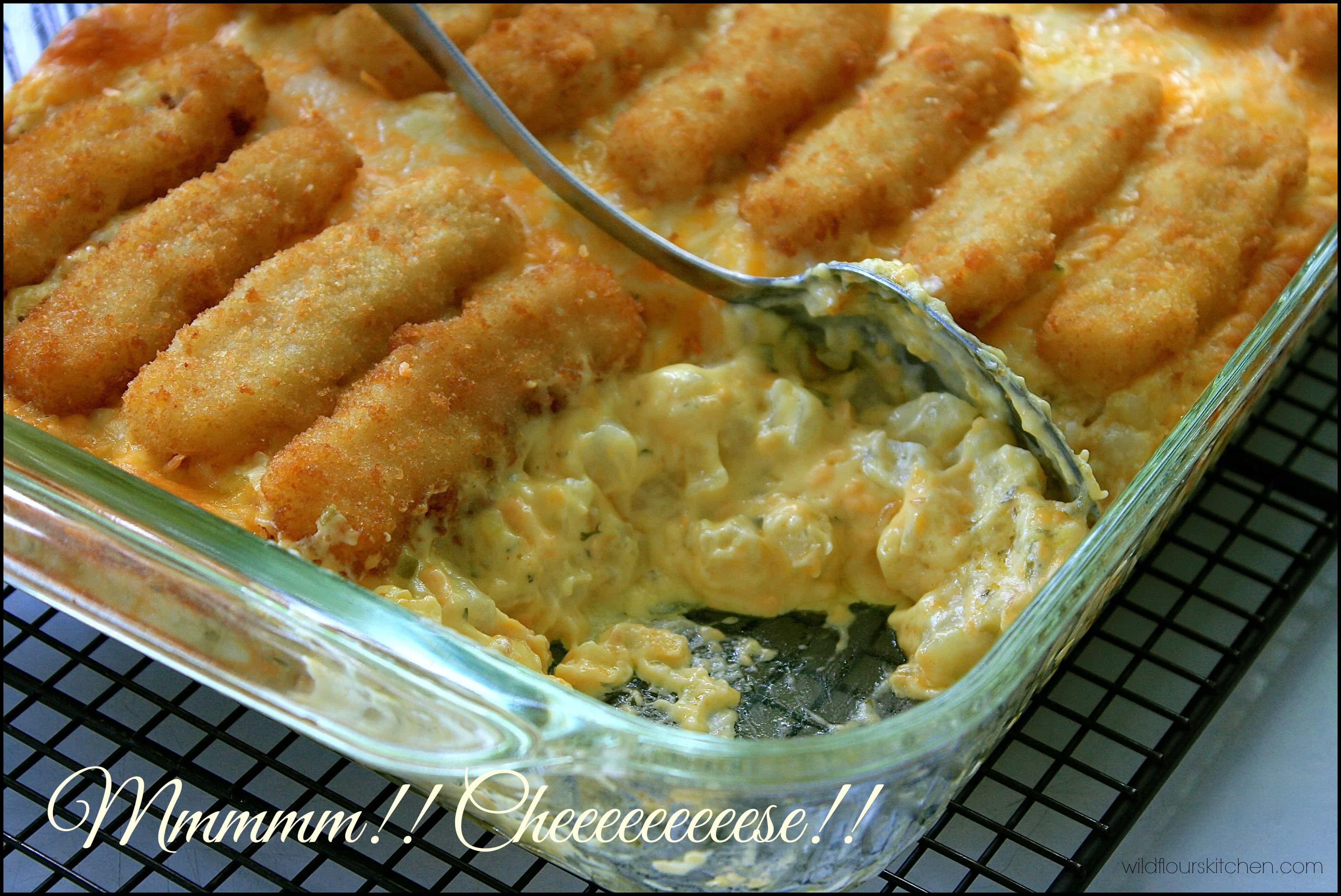 how to make fish casserole