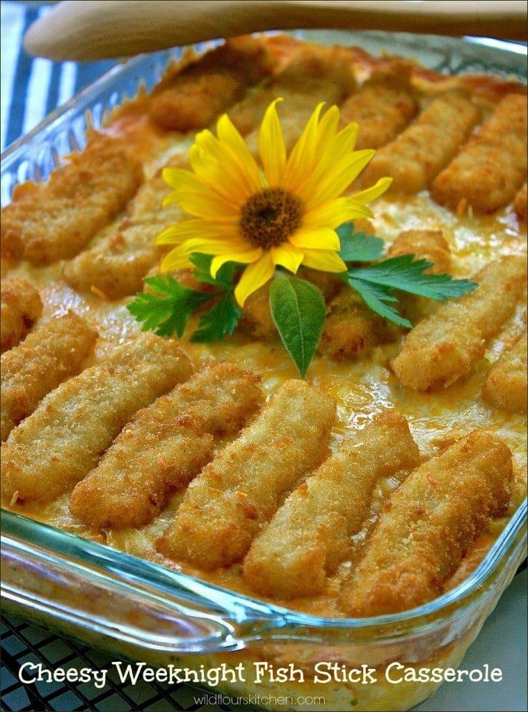 fish stick casserole
