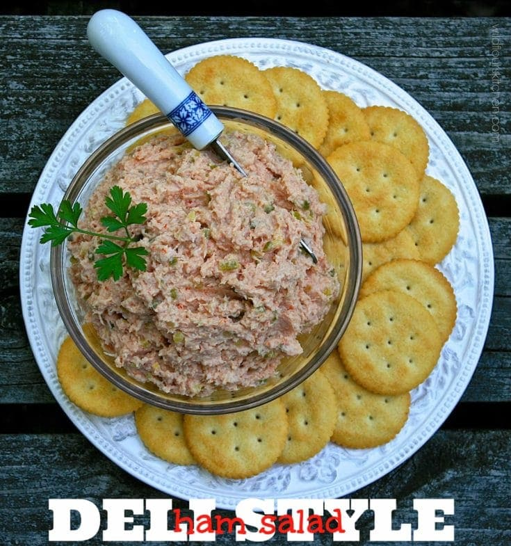 Old-Fashioned Deli-Style Ham Salad