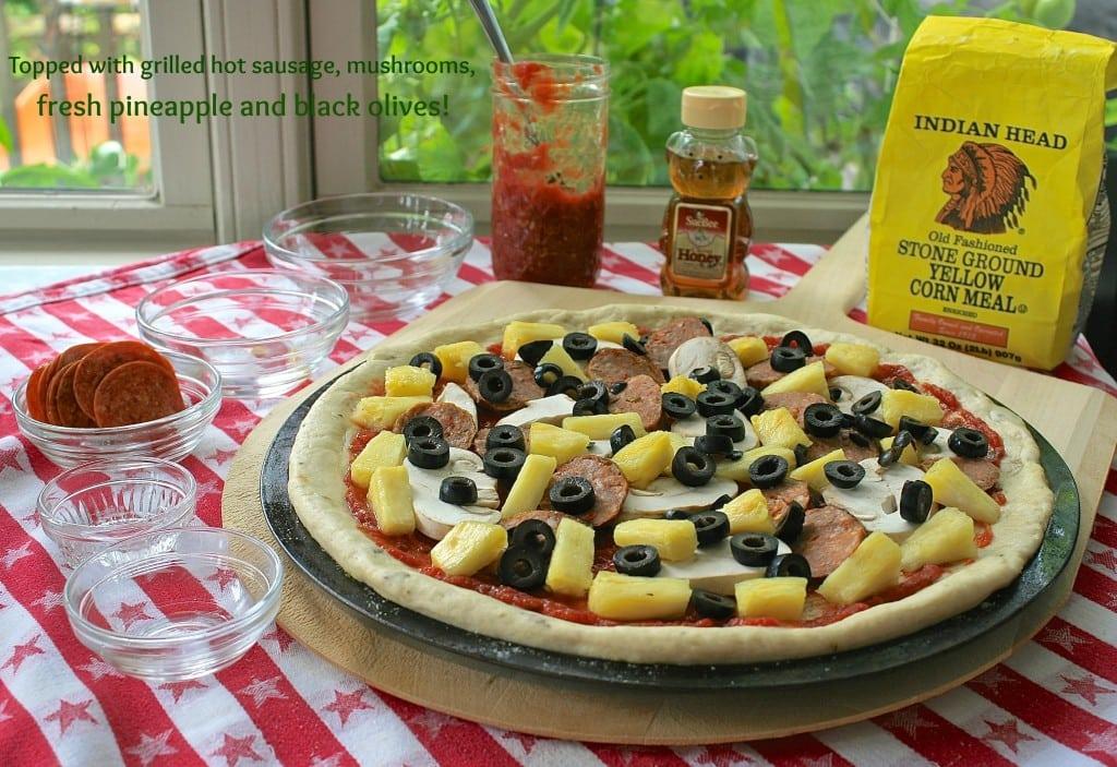 honey wine pizza dough 7