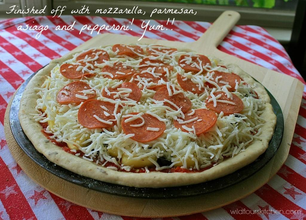 honey wine pizza dough 8