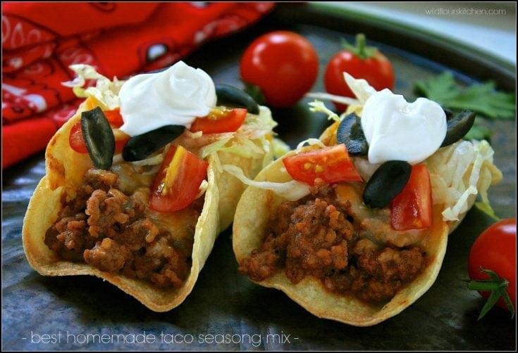 Best Homemade Taco Seasoning Mix (Plus Baked White Corn Tortilla Tip)