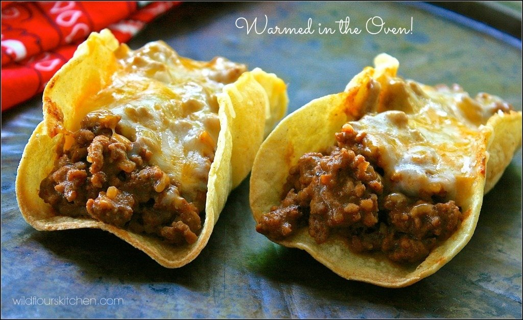 then just fill taco shells with the taco meat mixture