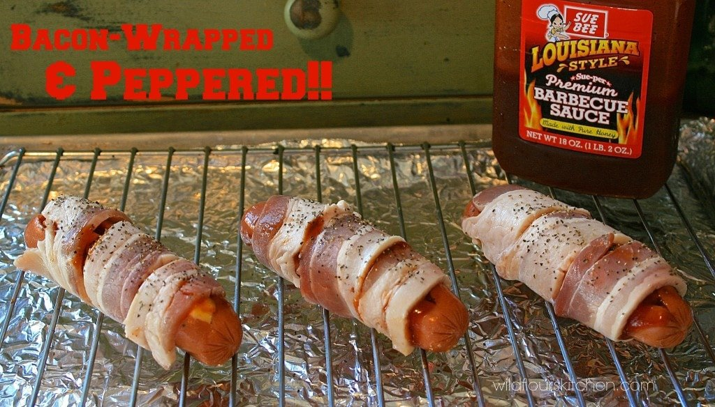 bbq bacon cheese dogs 4
