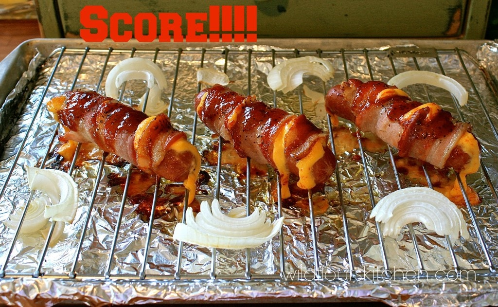 bbq bacon cheese dogs 5