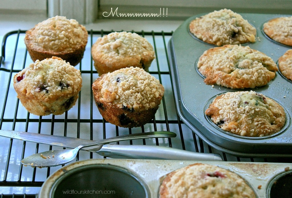 huck muffins baked 2