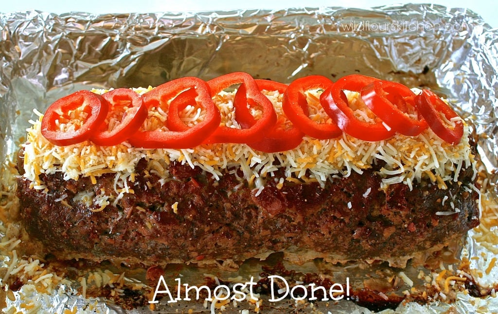 meatloaf roll almost done