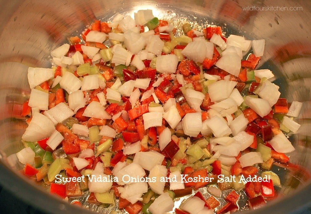 peppers onion & salt