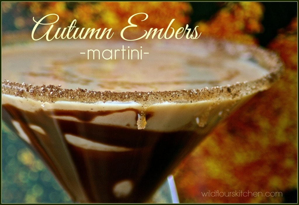 autumn embers martini 2