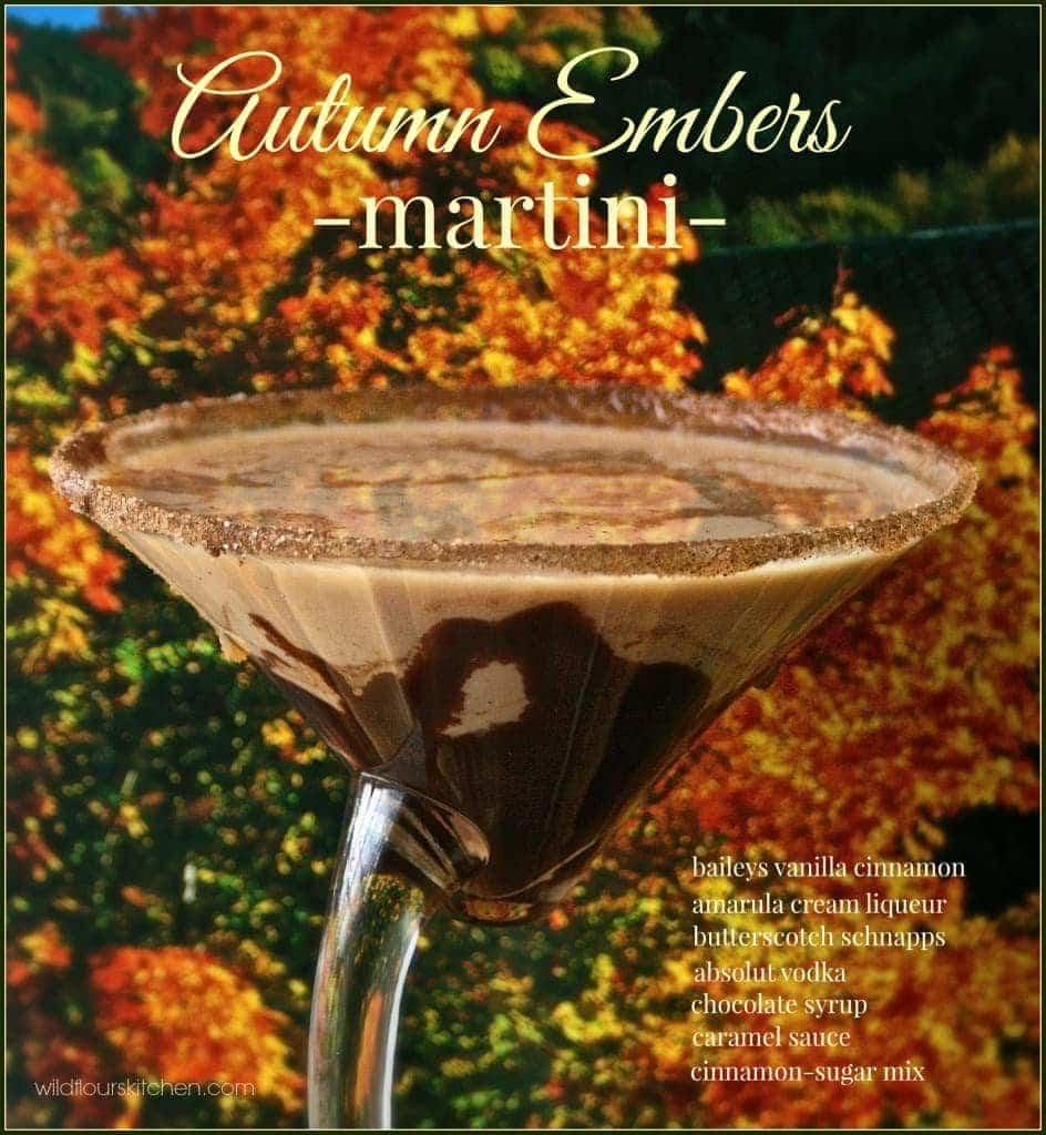 autumn embers martini