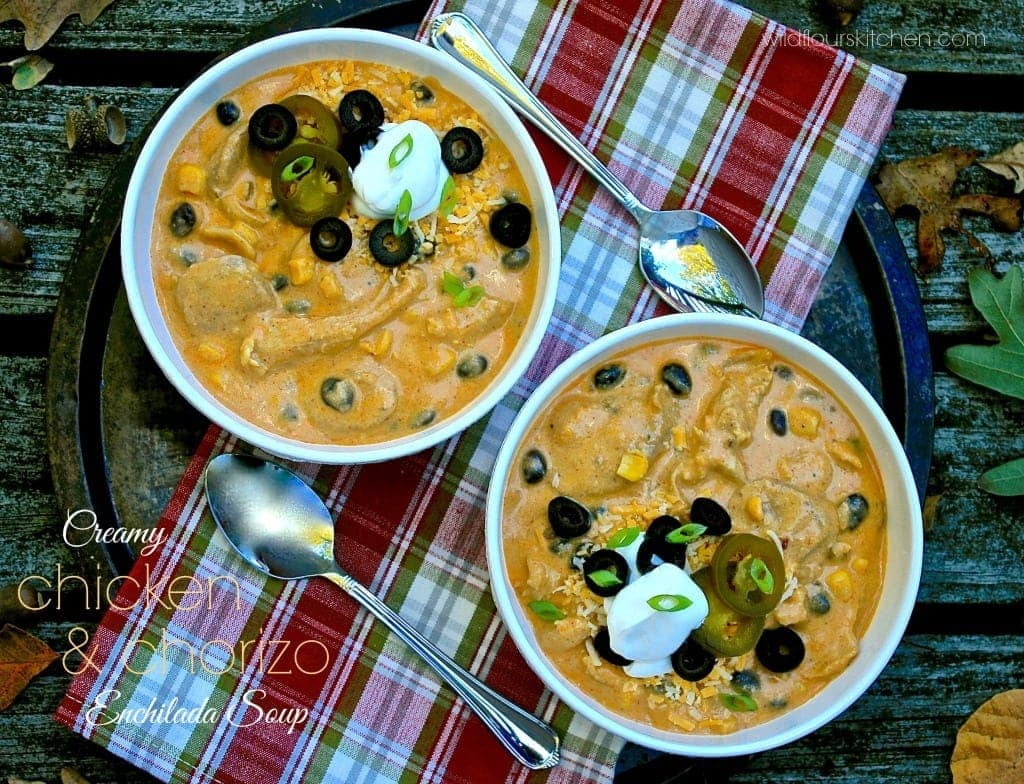 chix & chorizo enchilada soup 2