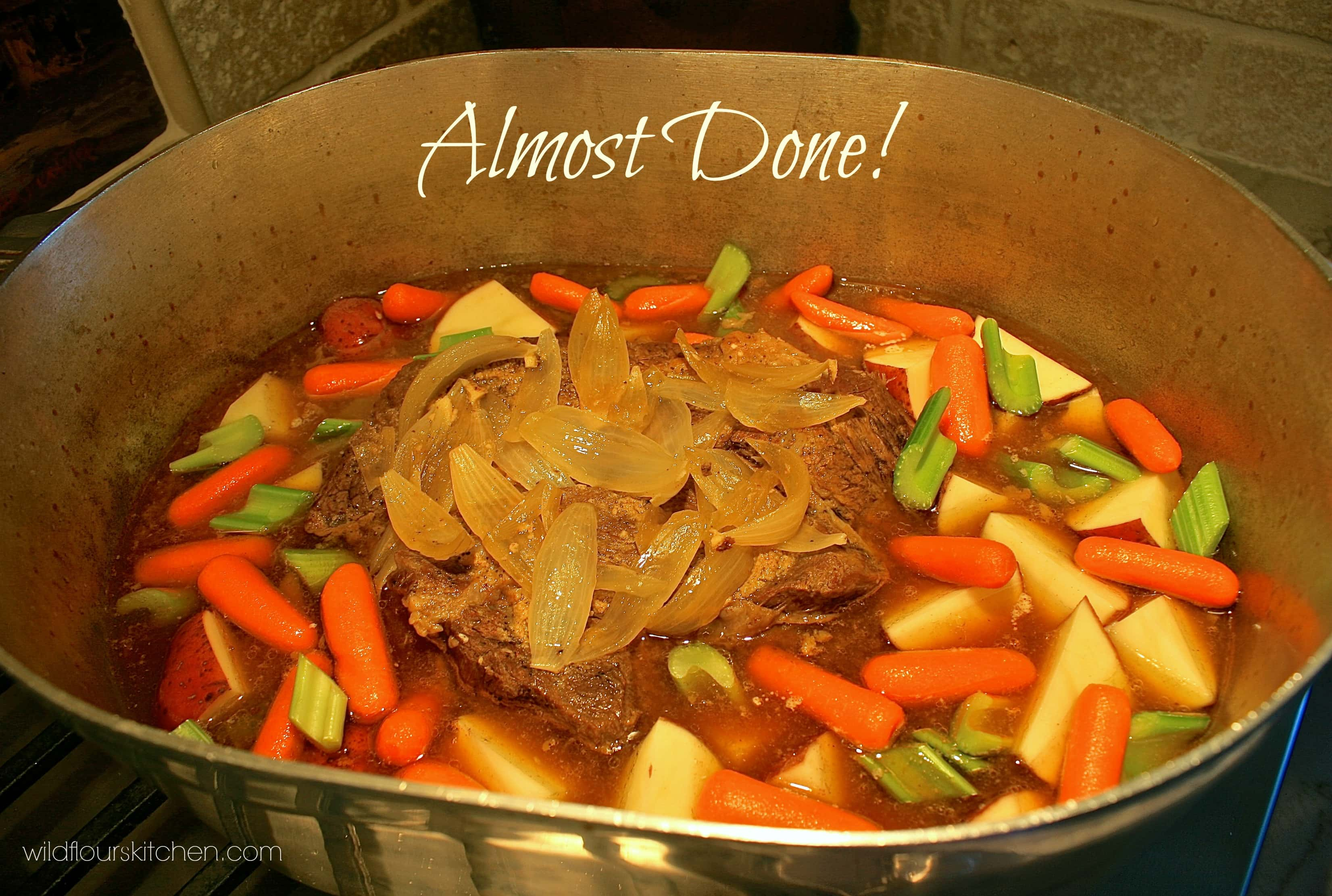 Best Country Pot Roast With Vegetables Amp Gravy Wildflour