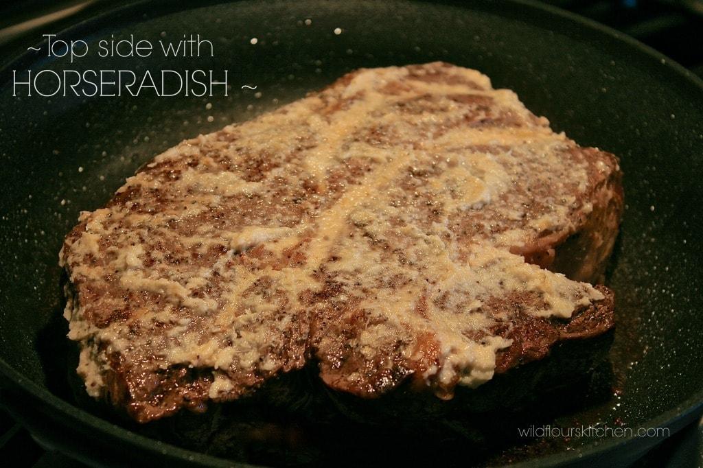 chuck roast w:horseradish
