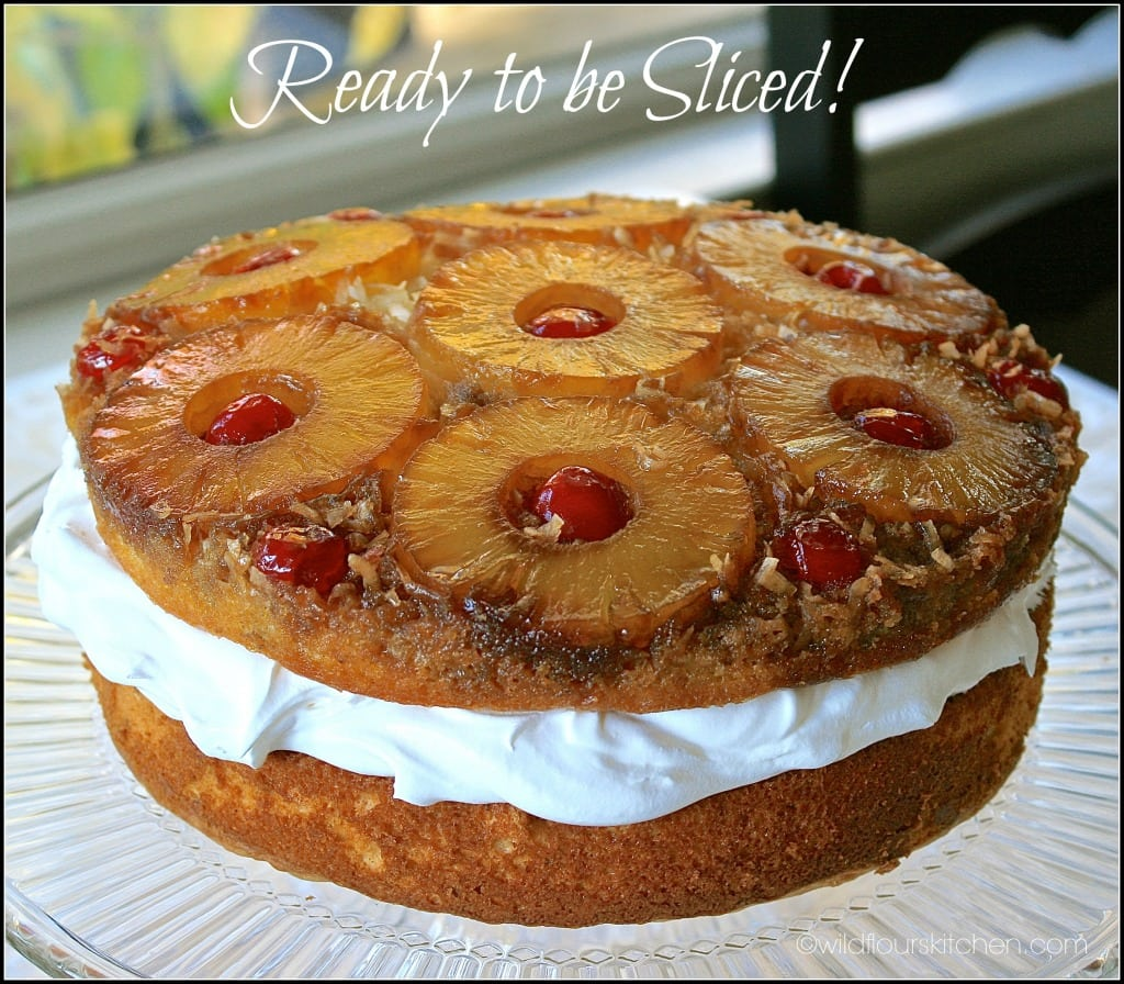 7 Layer Pineapple Cake: Double-Layer Coconut, Pecan & Pineapple Upside-Down Cake
