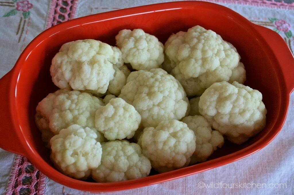 cauliflower in dish