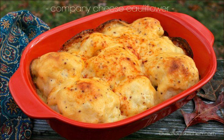 Company Cheese Cauliflower