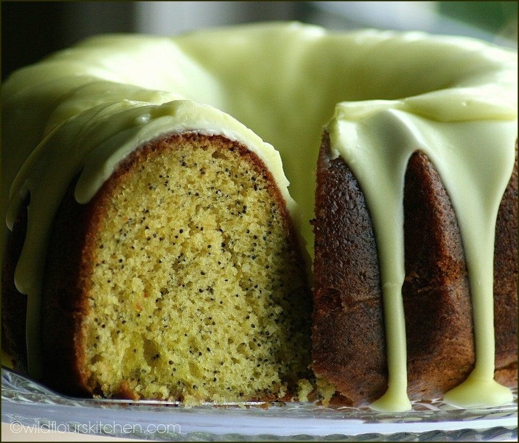 Triple Lemon Poppy Seed Cake - Wildflour's Cottage Kitchen